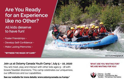 Ostomy Canada Youth Camp