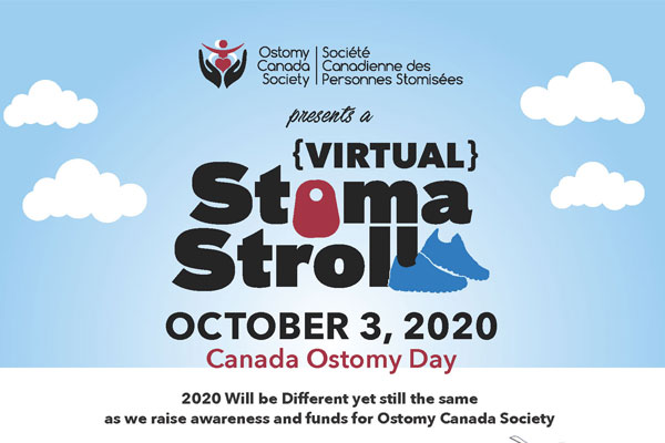 Stoma Stroll Banner 2020